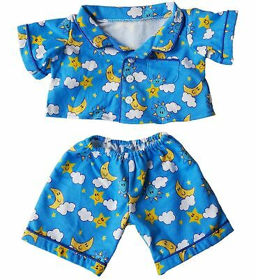 "Flannel PJ's Clothes Outfit Fit 14"" - 18"" Build-A-Bear, Vermont Teddy Bears, ..."