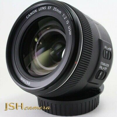 Canon Single Focus Lens Ef35Mm F2 Is Usm Full Size Compatible