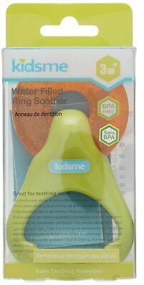 Kidsme Water Filled Ring Soother, Green/Orange