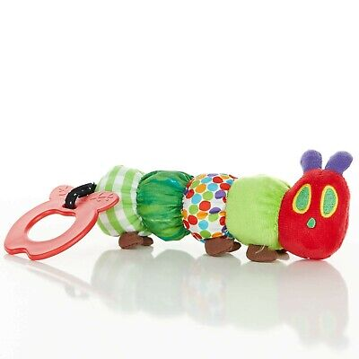The World of Eric Carle, The Very Hungry Caterpillar Teether Rattle ,Teething...