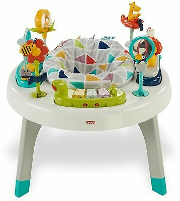Fisher-Price Fawn Meadows Deluxe Bouncer, portable infant seat with music and...