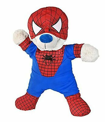 "Spidey Teddy outfit Teddy Bear Clothes Fit 14"" - 18"" Build-A-Bear, Vermont Te..."