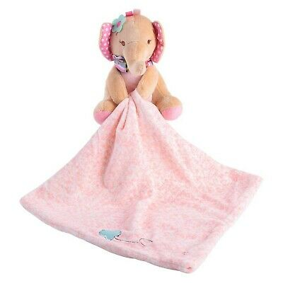 Toddler Baby Appease Towel Adorable Soft Square Security Blanket Plush Stuffe...