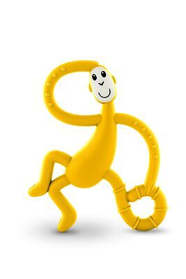 Matchstick Monkey Dancing Teether - Yellow, One Size