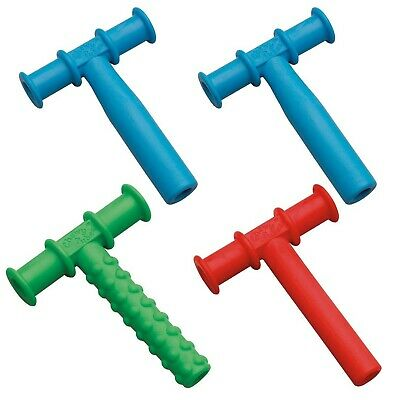 Chewy Tubes Teether, 4 Pack - Blue/Green/Red