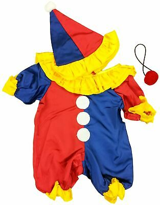"Party Clown Outfit Teddy Bear Clothes Outfit Fits Most 14"" - 18"" Build-a-bear..."