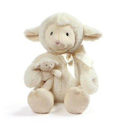 Baby GUND Animated Talking Nursey Time Lamb with 5 Nursery Rhymes, 10""