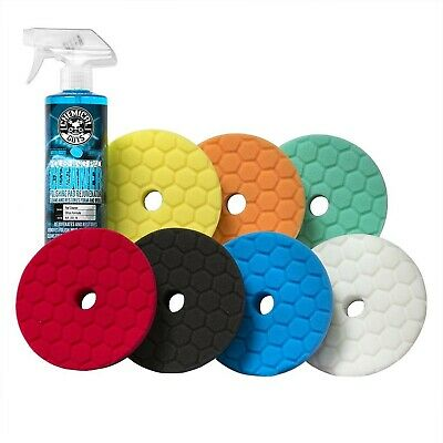 """Chemical Guys BUFX700 5.5"""" Hex-Logic Quantum Best of The Best Buffing and Pol..."""