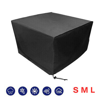 Garden Furniture Protective Cover Square Patio Set Table Chair Weatherproof UK