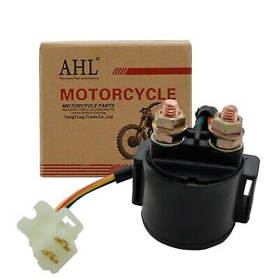 AHL Starter Solenoid Relay for Yamaha Grizzly 600 YFM600 595cc Engine 1998 19...