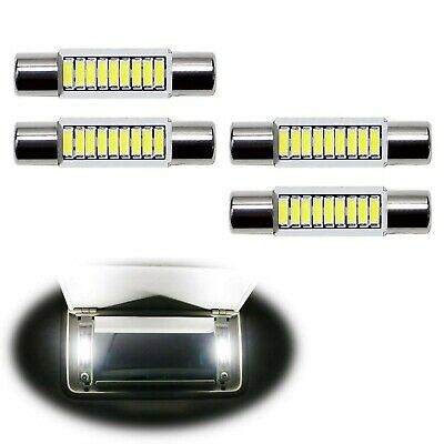 iJDMTOY 4pcs Extremely Bright 9-SMD 29mm 6614 LED Replacement Bulbs Compatibl...