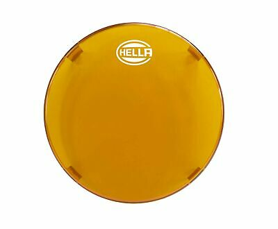 "HELLA 358116991 6"" Amber Driving Light Cover 6"" Amber Cover"
