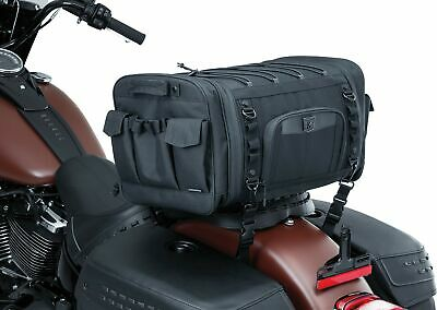Kuryakyn 5283 Momentum Drifter Motorcycle Travel Luggage: Weather Resistant R...