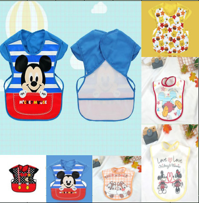 New Sleeveless Kids/Baby Bibs WATERPROOF Feeding Apron COMFORTABLE WEAR