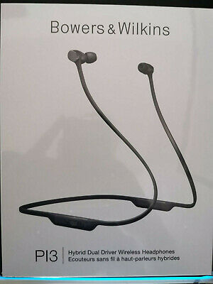 Bowers & Wilkins PI3 Wireless In Ear Headphones - Space Grey