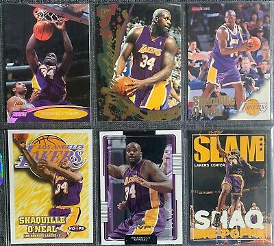 Shaquille O'Neal (Lakers) 6 Basketball-Common-Card Lot