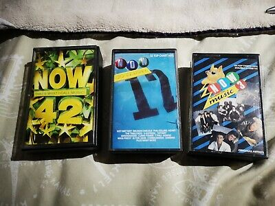 Now that's what I call music 17 now 3  & Now 42 double Cassette  tapes