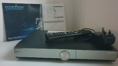 Humax DTR-T2000 YouView Smart 500GB HDD Dual Twin HD Freeview+ Tuner Recorder
