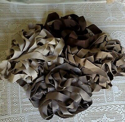 Lot of 4 Early 1900's Antique Milliner's Ribbons