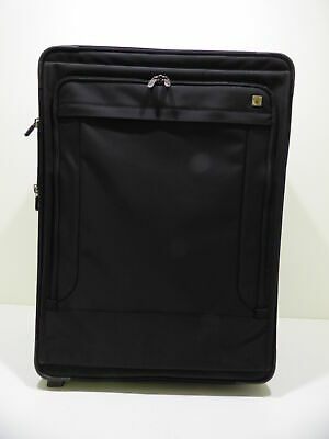 """Swiss Army Black Victorinox 30"""" Large Soft Expandable Suitcase w/ Wheels"""