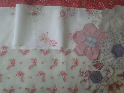 14 Assorted Re-Claimed Antique/Vintage Quilt Fabric Pieces