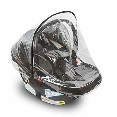 Car Seat Rain Cover – Universal Vinyl Weather Shield Fits Doona, Graco, Maxi