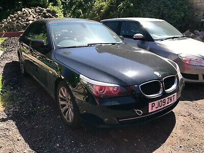 2009 Bmw 520D Se Business Edition Auto Black Non Runner Spares Or Repair