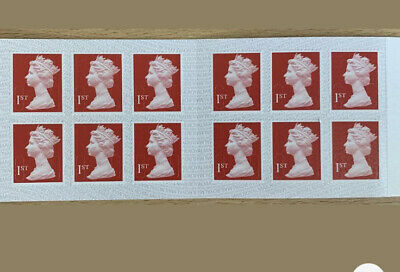 5 X12 BOOKS 60 1st CLASS STAMPS