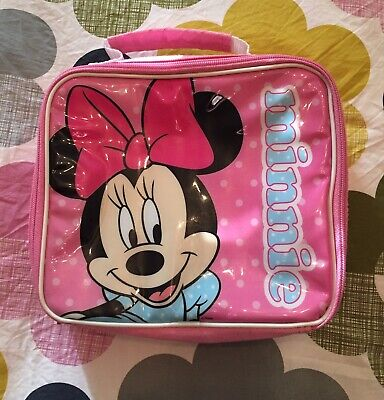 Minnie Mouse Pink Insulated Lunch Box.