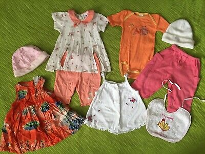 Bundle Baby Girl Clothes Age 0-3 / 1/ 3-6 Months Absorba Gap Top Trousers Outfit