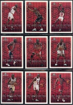 15 Lot 99-00 Upper Deck Mvp Mj Exclusives Michael Jordan Starter Set Ud Sp Bulls