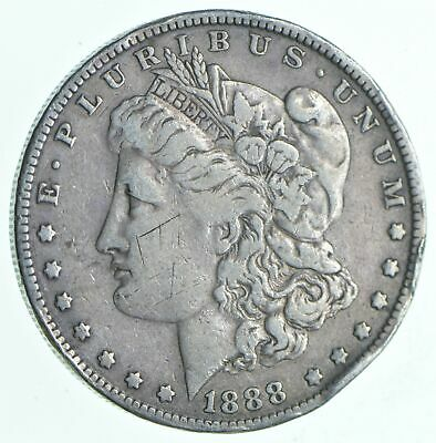 Early 1888-O Morgan Silver Dollar - 90% US Coin *344