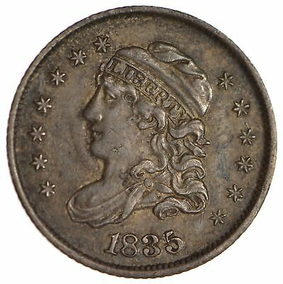 1835 Capped Bust Half Dime - Circulated *1708