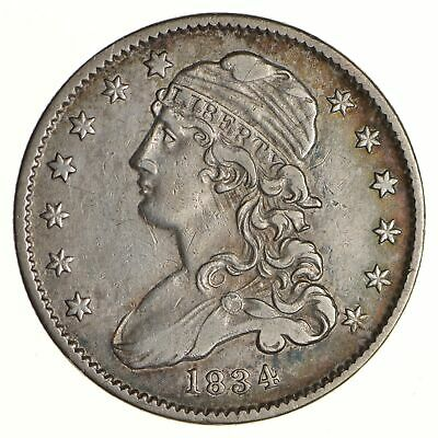 1834 Capped Bust Quarter - Circulated *6844