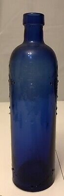 Vintage BLUE BOTTLE  11 1/2""