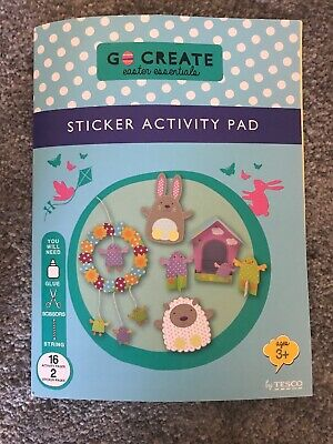 NEW Easter Art & Craft Activity's Finger Puppets Birdhouse Wreath Stickers Game
