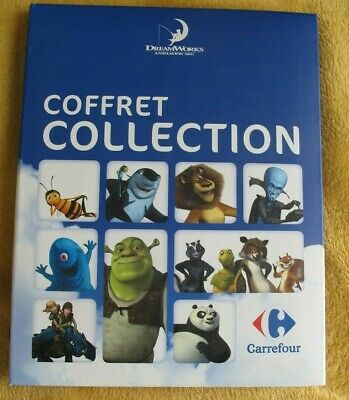 Coffret Album Collector Collection Carrefour Dreamworks Complet 216 Cartes