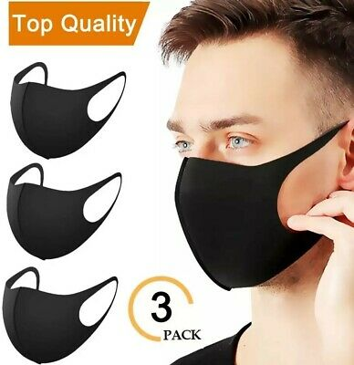 3x Face Mouth Dust Cover Breathable Washable Anti Dust Fog Mouth Cover ⭐⭐ UK ⭐⭐