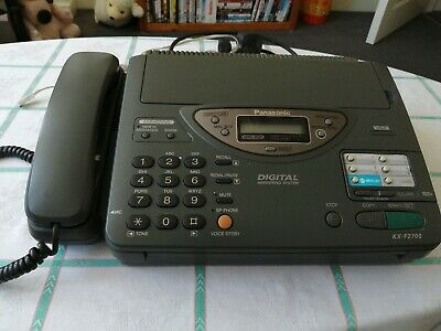 Panasonic Digital Answering System And Fax