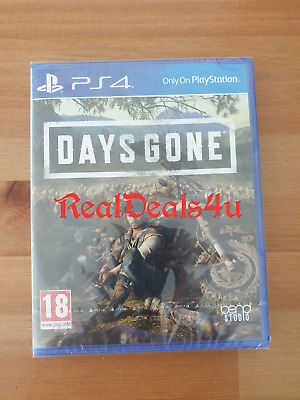Days Gone PS4 Playstation 4 (2019 - New & Sealed - FREE POST
