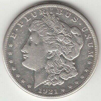 * Etats-Unis - United-States - Usa - $1 Dollar 1921 S Morgan - Silver - Argent *