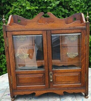 Vintage hand crafted Small Wardrobe For  storing Jewellery /other precious items