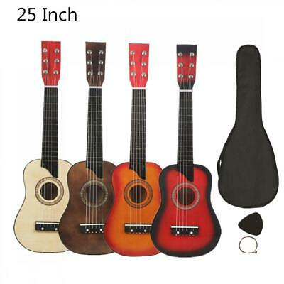 Acoustic Guitar 25 Inch Basswood Pick Strings For Beginner Musical Instruments