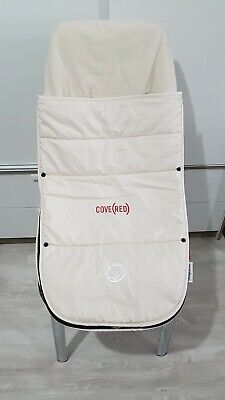 Bugaboo off white Limited edition Footmuff donkey cameleon fox buffalo bee!!