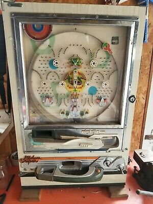 nishijin super deluxe plinko machine with balls nice, rare, one of a kind piece!