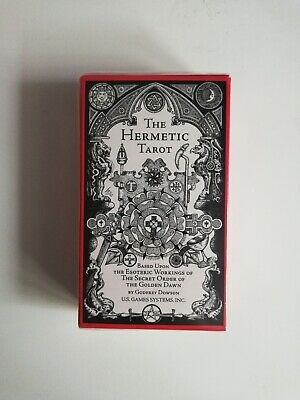 New The Hermetic Tarot by Godfrey Dowson 78 Card Deck and Instruction