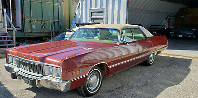 1973 Chrysler Newport Hardtop 1973 Chrysler Newport Hardtop Sedan, 400 cu in. 1 Family Owned Since New