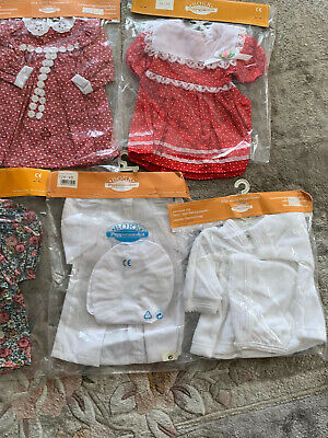 Bork Puppenmode 4x Vintage OVP Puppenkleider Outfit  neu