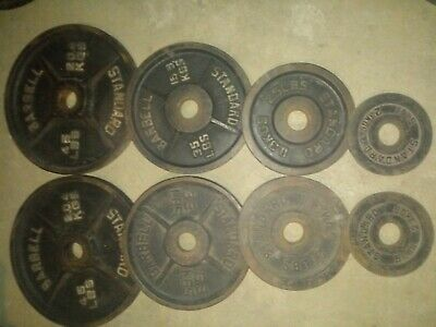 Olympic Weight Plates 220lbs
