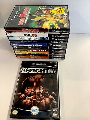 Def Jam: Fight for NY | Nintendo GameCube Game Lot Need Resurfacing